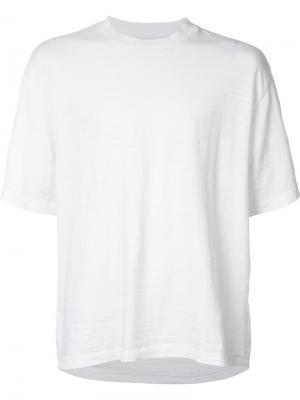 Свободная футболка 321. Цвет: белый