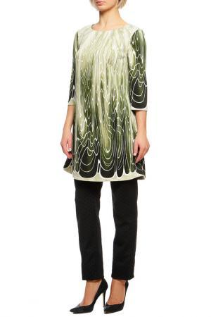 Туника Magnolica. Цвет: зеленый