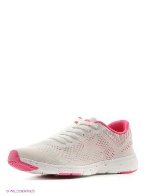 Кроссовки Ascot. Цвет: белый, розовый