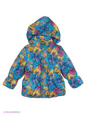 Куртка Hippo Hoppo. Цвет: бирюзовый