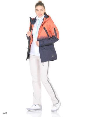 Куртка O'Neill. Цвет: оранжевый, синий