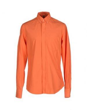 Pубашка DONDUP. Цвет: оранжевый