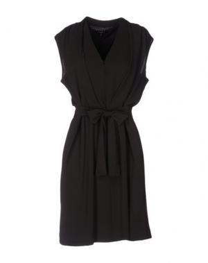 Короткое платье AXARA PARIS. Цвет: темно-фиолетовый