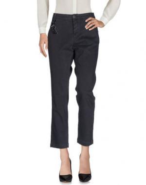 Повседневные брюки ROŸ ROGER'S CHOICE. Цвет: свинцово-серый