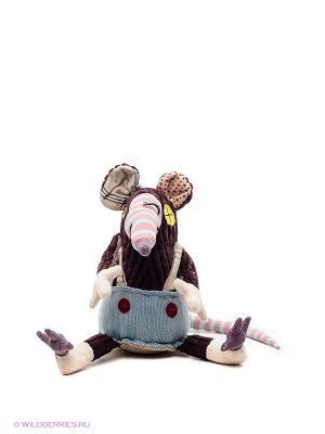 Игрушка Мышь Deglingos. Цвет: синий, фиолетовый