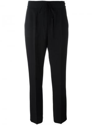 Прямые брюки Alexander Wang. Цвет: чёрный