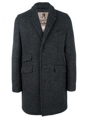 Пальто с карманами Sealup. Цвет: чёрный