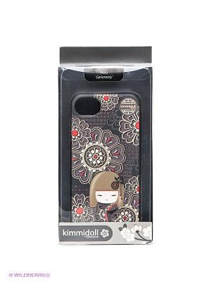 Чехол для iphone 5 Kimmidoll. Цвет: коричневый