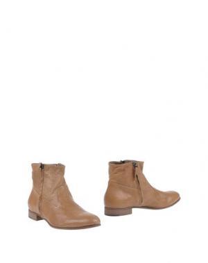 Полусапоги и высокие ботинки LABORATORIGARBO. Цвет: коричневый