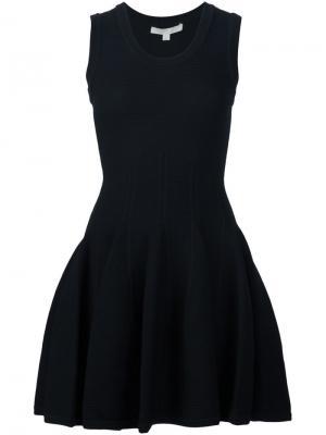 Платье мини без рукавов Jonathan Simkhai. Цвет: чёрный