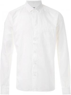 Рубашка Harajuku YMC. Цвет: белый