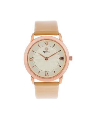 Часы ювелирные коллекция Q-Style, QWILL, Часовой завод Ника QWILL. Цвет: золотистый