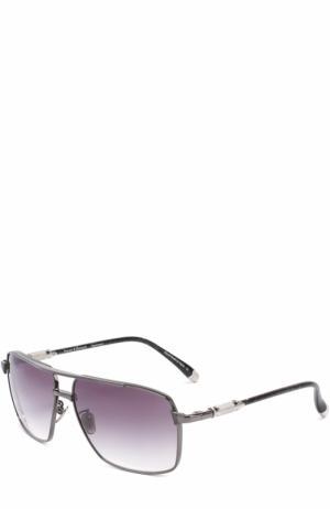 Солнцезащитные очки Frency&Mercury. Цвет: серый