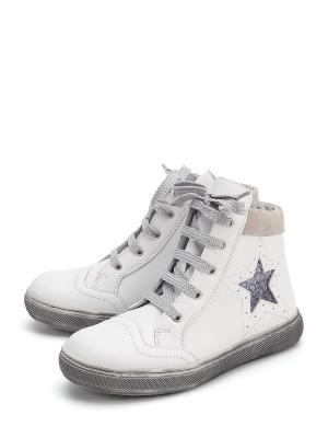 Ботинки PAVLE. Цвет: белый