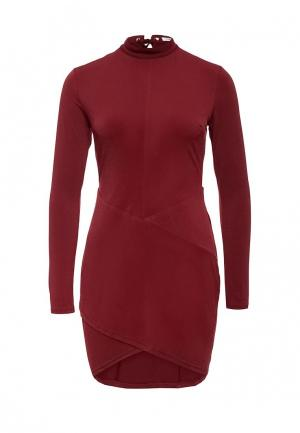 Платье Glamorous. Цвет: бордовый