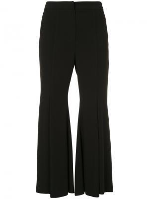 Расклешенные брюки Goen.J. Цвет: чёрный