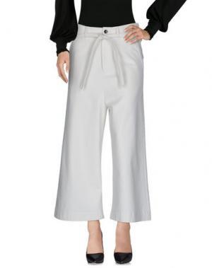 Повседневные брюки DAMIR DOMA. Цвет: слоновая кость