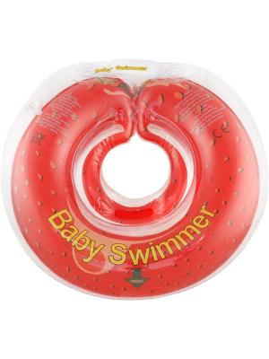 Круг красный (полуцвет) - КЛУБНИЧКА Baby Swimmer. Цвет: красный