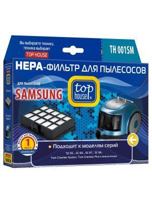 Top house TH 001SM HEPA-Фильтр для пылесосов SAMSUNG, 1 шт.. Цвет: синий