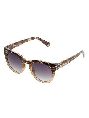 Солнцезащитные очки. Bijoux Land. Цвет: черный, бежевый