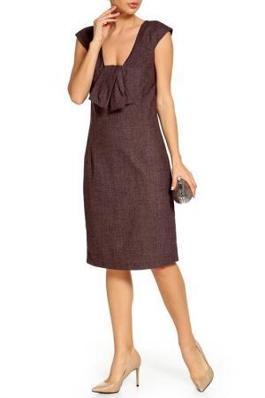 Платье BGN. Цвет: burgundy