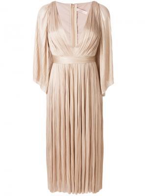 Платье Lur Maria Lucia Hohan. Цвет: телесный