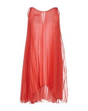 Короткое платье GIO' GUERRERI. Цвет: хаки