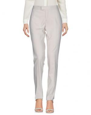 Повседневные брюки TONELLO. Цвет: светло-серый