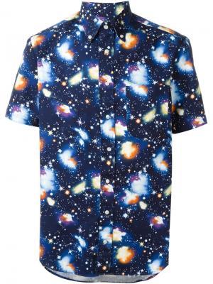 Рубашка Big Banger Gitman Vintage. Цвет: синий