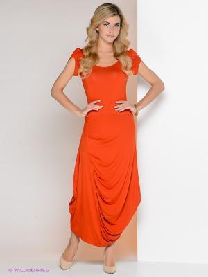 Платье МадаМ Т. Цвет: рыжий