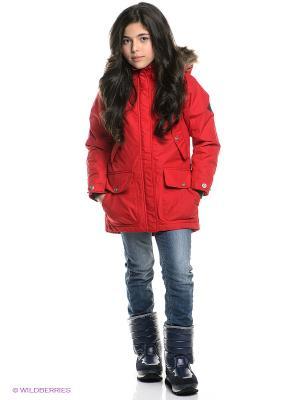 Куртка DIDRIKSONS. Цвет: красный