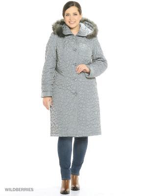 Утепленное пальто MONTSERRAT. Цвет: морская волна