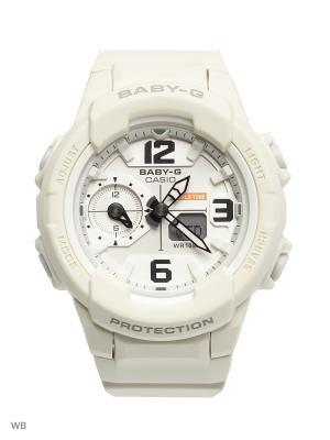 Часы Baby-G BGA-230-7B2 CASIO. Цвет: молочный