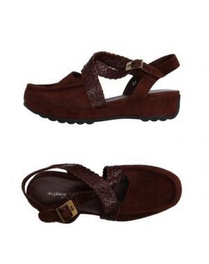 Туфли STEPHANE KÉLIAN. Цвет: темно-коричневый