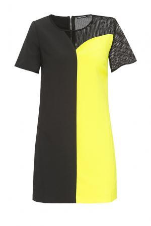 Платье из хлопка 167865 Paola Morena. Цвет: разноцветный