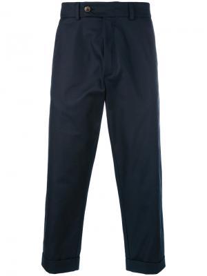 Cropped trousers Société Anonyme. Цвет: синий