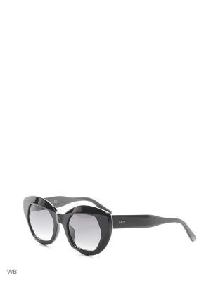 Солнцезащитные очки TO 0144 01B Tod's. Цвет: черный