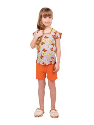 Комплект Апрель. Цвет: оранжевый, желтый