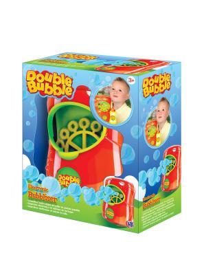 Машина для пускания мыльных пузырей Double Bubble HTI. Цвет: лазурный,зеленый,красный