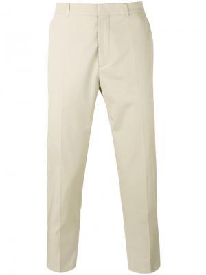 Укороченные брюки Harmony Paris. Цвет: телесный