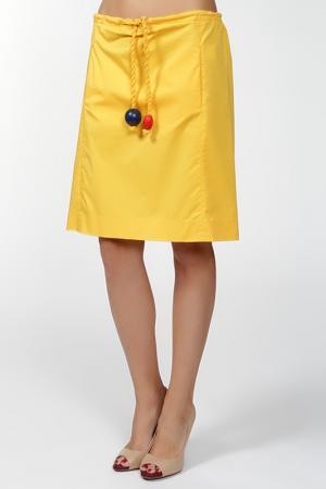 Юбка Sonia. Цвет: желтый