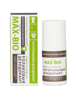 Дезодорант MAX-BIO Защита и свежесть. Цвет: салатовый