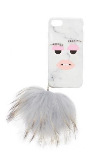 7 Чехол для iPhone с модный мрамор монстр Iphoria