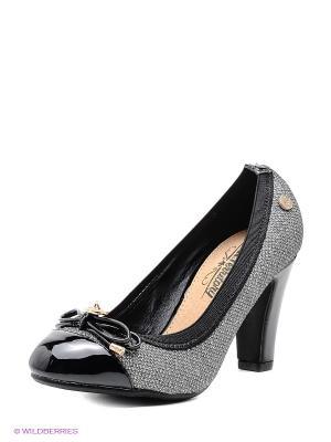 Туфли XTI. Цвет: серый