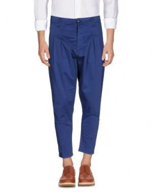 Повседневные брюки MINIMAL. Цвет: синий