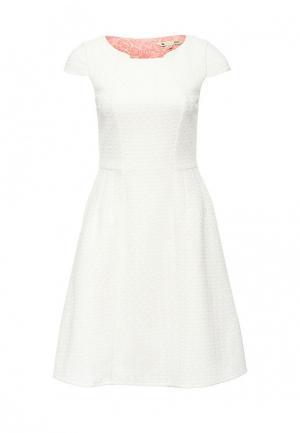 Платье Yumi. Цвет: белый