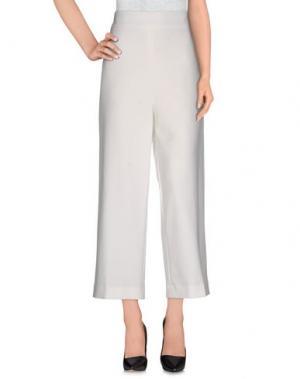 Повседневные брюки WEILI ZHENG. Цвет: белый