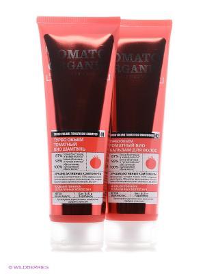 Косметический набор Organic naturally professional № 6 Shop. Цвет: антрацитовый, розовый, темно-красный