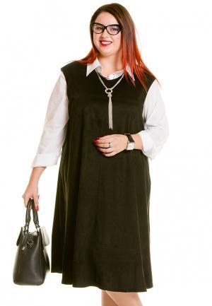Платье Luxury Plus. Цвет: хаки