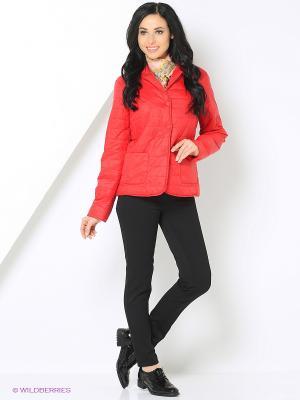 Куртка Mansion. Цвет: красный